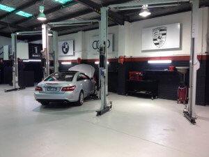 Car Serviced at Southbank Prestige